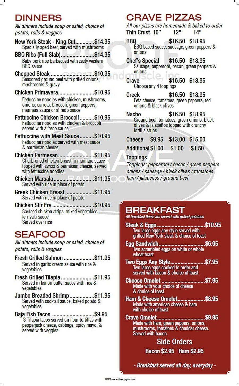Chicago Coupons Crave Bar Amp Food Joynt Free Printable