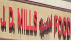 J.D Mills Health Foods Logo