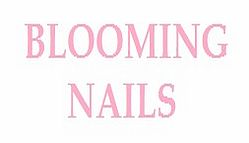 Blooming Nails Logo