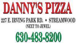 Danny's Pizza Streamwood Logo